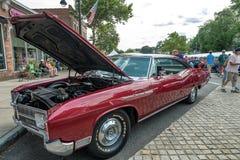 Το αυτοκίνητο παρουσιάζει στο Μάντσεστερ Κοννέκτικατ Στοκ φωτογραφία με δικαίωμα ελεύθερης χρήσης