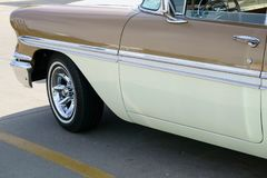 1958 το αυτοκίνητο παρουσιάζει Chevy Στοκ Φωτογραφίες