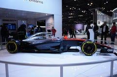 Το αυτοκίνητο στη Νέα Υόρκη αυτόματη παρουσιάζει Honda το 2015 Στοκ φωτογραφία με δικαίωμα ελεύθερης χρήσης