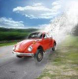 το αυτοκίνητο συντονίζ&epsilon Στοκ Φωτογραφία