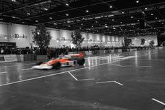 Το αυτοκίνητο του Λονδίνου παρουσιάζει 2015/F1 αυτοκίνητο στοκ φωτογραφίες