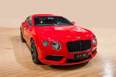 Το αυτοκίνητο Chongqing σειράς Bentley αυτόματο παρουσιάζει Στοκ Φωτογραφίες