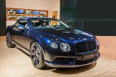 Το αυτοκίνητο Chongqing σειράς Bentley αυτόματο παρουσιάζει Στοκ Εικόνες