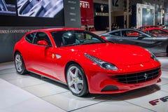 Το αυτοκίνητο Chongqing σειράς Ferrari αυτόματο παρουσιάζει Στοκ Εικόνα