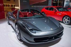 Το αυτοκίνητο Chongqing σειράς Ferrari αυτόματο παρουσιάζει Στοκ Φωτογραφίες