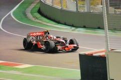 το αυτοκίνητο f1 Heikki του 2008 το s Στοκ Εικόνες