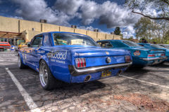 Το αυτοκίνητο Goodguys παρουσιάζει ασβέστιο το 2014 Pleasanton Στοκ εικόνα με δικαίωμα ελεύθερης χρήσης