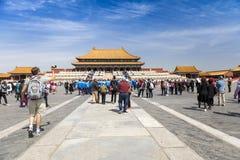 Το αυτοκρατορικό παλάτι, Πεκίνο, Κίνα στοκ φωτογραφία με δικαίωμα ελεύθερης χρήσης