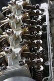 Το αυτόματο υπόβαθρο μερών μηχανών ή μηχανών, κλείνει επάνω τα μέρη μηχανών, την επισκευή και τη συντήρηση η ρουτίνα μηχανών στοκ εικόνα με δικαίωμα ελεύθερης χρήσης