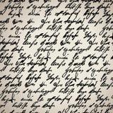Το αφηρημένο άνευ ραφής χέρι γράφει το πρότυπο Στοκ Φωτογραφία