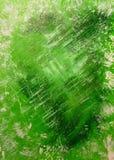 Το αφηρημένο ακρυλικό υπόβαθρο που χρωματίζεται δίνει πράσινο Απεικόνιση αποθεμάτων