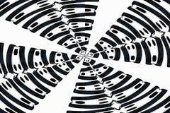 Το αφηρημένο καλειδοσκόπιο χωρίζει σε τετράγωνα το υπόβαθρο Στοκ Εικόνες