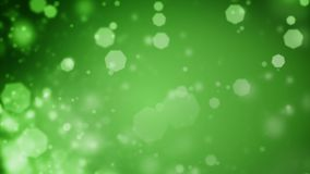 Το αφηρημένο πράσινο υπόβαθρο Χριστουγέννων με το bokeh τα φω'τα διανυσματική απεικόνιση