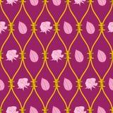 το αφηρημένο ροζ προτύπων α& διανυσματική απεικόνιση