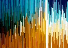 Το αφηρημένο υπόβαθρο με τα κάθετα λωρίδες, γραμμές ρευμάτων Έννοια της αισθητικής του λάθους σημάτων Στοκ φωτογραφία με δικαίωμα ελεύθερης χρήσης