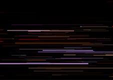 Το αφηρημένο υπόβαθρο με τα οριζόντια λωρίδες, γραμμές ρευμάτων Έννοια της αισθητικής του λάθους σημάτων Στοκ εικόνες με δικαίωμα ελεύθερης χρήσης