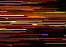 Το αφηρημένο υπόβαθρο με τα οριζόντια λωρίδες, γραμμές ρευμάτων Έννοια της αισθητικής του λάθους σημάτων Στοκ Φωτογραφίες