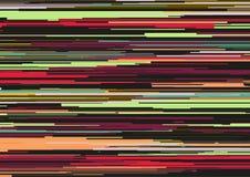Το αφηρημένο υπόβαθρο με τα οριζόντια λωρίδες, γραμμές ρευμάτων Έννοια της αισθητικής του λάθους σημάτων Στοκ φωτογραφίες με δικαίωμα ελεύθερης χρήσης