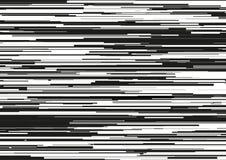 Το αφηρημένο υπόβαθρο με τα οριζόντια λωρίδες, γραμμές ρευμάτων Έννοια της αισθητικής του λάθους σημάτων Στοκ Εικόνες