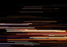 Το αφηρημένο υπόβαθρο με τα οριζόντια λωρίδες, γραμμές ρευμάτων Έννοια της αισθητικής του λάθους σημάτων Στοκ Φωτογραφία