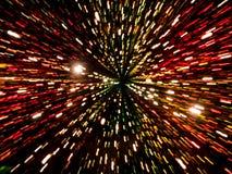 Το αφηρημένο φως σύρει bokeh Στοκ εικόνες με δικαίωμα ελεύθερης χρήσης