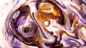 Το αφηρημένο φύσημα χρωμάτων μελανιού τέχνης εκρήγνυται την αναταραχή απόθεμα βίντεο