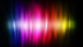 το αφηρημένο χρώμα ρέει ουρά Στοκ Εικόνες