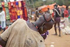 Αφρικανικό ύφος τρίχας ατόμων Στοκ εικόνες με δικαίωμα ελεύθερης χρήσης
