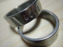 Το δαχτυλίδι αγάπης Στοκ Εικόνες