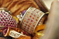 Το δαχτυλίδι της καρδιάς Στοκ φωτογραφία με δικαίωμα ελεύθερης χρήσης