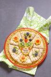 Το αχλάδι ζάχαρης scull με crepes Στοκ εικόνες με δικαίωμα ελεύθερης χρήσης