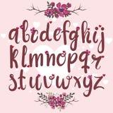 Το αλφάβητο αγάπης Στοκ φωτογραφία με δικαίωμα ελεύθερης χρήσης