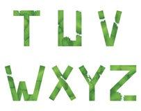 το αλφάβητο αγγλικά παγώνει τις ελαφριές εικόνες φωτογραφιών που παίρνουν την τεχνολογία χρησιμοποιούμενη ήταν Στοκ φωτογραφία με δικαίωμα ελεύθερης χρήσης
