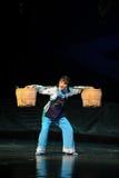 Το βαρύ φορτίο της όπερας Jiangxi γυναικών ένας στατήρας Στοκ Φωτογραφία