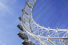 το βασίλειο Λονδίνο 6 135 2011 λεπτομέρειας της Ευρώπης ferris ματιών μπορεί πιό ψηλή ενωμένη το UK ρόδα μετρητών Το μάτι του Λον Στοκ Φωτογραφία