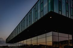 Το βασιλικό δανικό θέατρο στην Κοπεγχάγη στοκ εικόνα με δικαίωμα ελεύθερης χρήσης