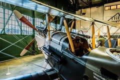 Το βασιλικό εργοστάσιο Ρ αεροσκαφών Ε 8 στοκ εικόνα με δικαίωμα ελεύθερης χρήσης