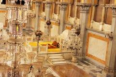 Το βασιλικό κάθισμα Nizam στοκ εικόνες