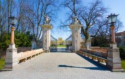 Το βασιλικό παλάτι Wilanow στη Βαρσοβία, Πολωνία Στοκ φωτογραφία με δικαίωμα ελεύθερης χρήσης