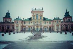 Το βασιλικό παλάτι Wilanow Στοκ φωτογραφία με δικαίωμα ελεύθερης χρήσης