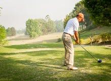 Το βασιλικό γήπεδο του γκολφ του Νεπάλ, Κατμαντού Στοκ φωτογραφία με δικαίωμα ελεύθερης χρήσης