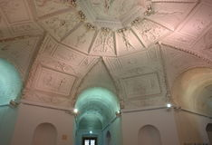 Το βασιλικό θερινό παλάτι αστεριών (Letohradek Hvezda), εσωτερικό Στοκ Φωτογραφία