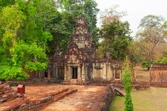 Το βασιλικό παλάτι, Ankgor Wat, Καμπότζη Στοκ Φωτογραφία