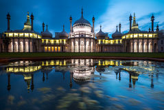Το βασιλικό περίπτερο στο Μπράιτον, Αγγλία Στοκ Εικόνα