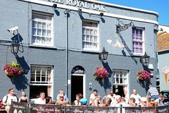 Το βασιλικό δρύινο μπαρ, Weymouth Στοκ εικόνα με δικαίωμα ελεύθερης χρήσης