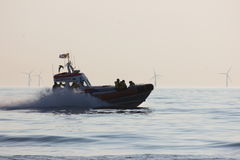 Το βασιλικό όργανο διάσωσης ολλανδικής θάλασσας Στοκ εικόνες με δικαίωμα ελεύθερης χρήσης