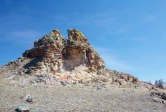 Το βελούδο λικνίζει κοντά Baikal στη λίμνη Στοκ φωτογραφίες με δικαίωμα ελεύθερης χρήσης