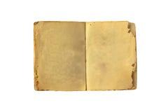 το βιβλίο απομόνωσε παλαιό ανοικτό Στοκ Εικόνες