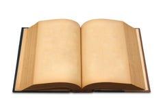 το βιβλίο απομόνωσε παλαιό ανοικτό Στοκ Εικόνα
