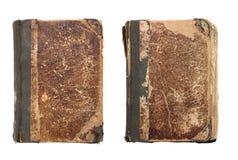 το βιβλίο ανασκόπησης απομόνωσε παλαιό πολύ άσπρο Στοκ Εικόνες